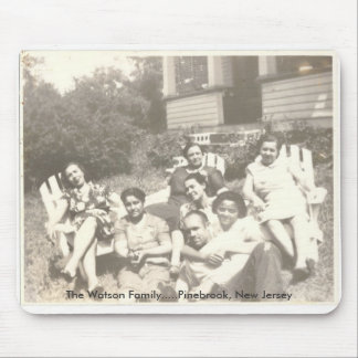 Watson Family in Pine Brook, New Jersey Mouse Pad