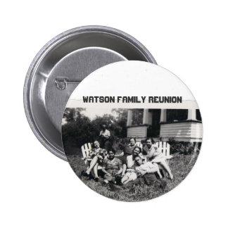 Watson Family Reunion 2 Inch Round Button