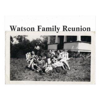 Watson Family Reunion Postcard