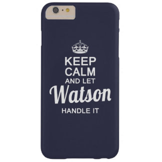 Watson handle it ! barely there iPhone 6 plus case