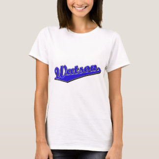 Watson in Blue T-Shirt