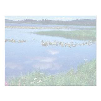 Watson Lake in Summer Personalized Invitation