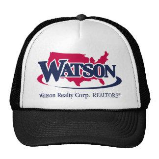 watson logo trucker hat