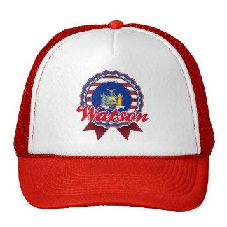 Watson, NY Trucker Hat