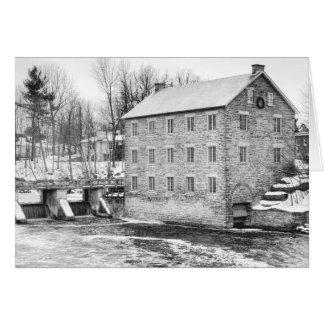 Watson's Mill in Manotick, Ontario Card