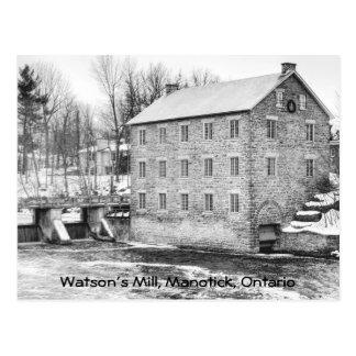 Watson's Mill in Manotick, Ontario Postcard