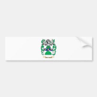 Watson (Scottish) Family Crest (Coat of Arms) Car Bumper Sticker