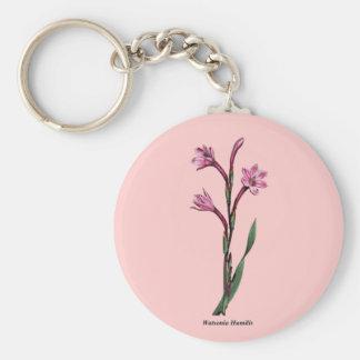 Watsonia Humilis Keychain