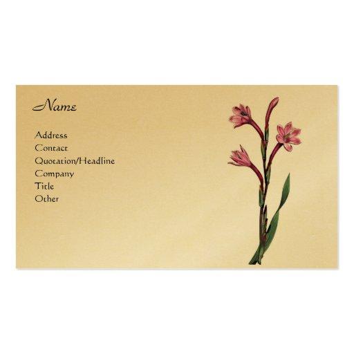 Watsonia Humilis Tarjeta Personal