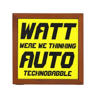 Watt Auto Desk Organizers