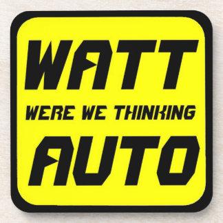 Watt Auto Drink Coaster
