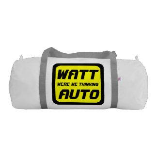 Watt Auto Duffle Bag