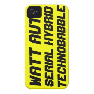 Watt Auto iPhone 4 Cases
