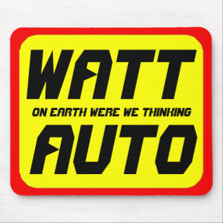 Watt Auto Mouse Pad
