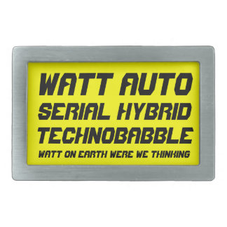 Watt Auto Rectangular Belt Buckle