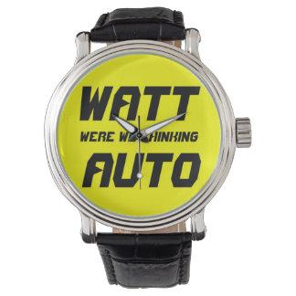 Watt Auto Wristwatches