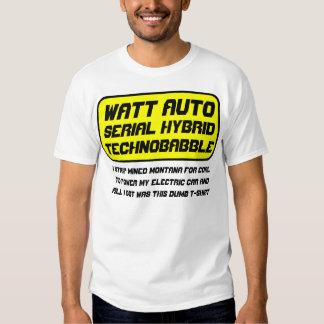 Watt Automobile T Shirts