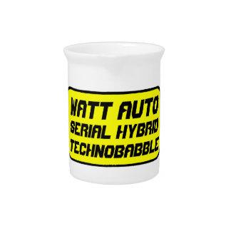 Watt Automobile technobabble Pitcher