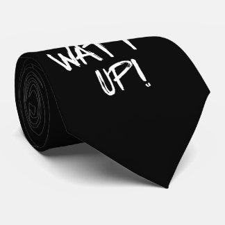 Watt Up! Science Humor Neck Tie