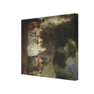 Watteau, arte de Jean-Antoine Lona Envuelta Para Galerias