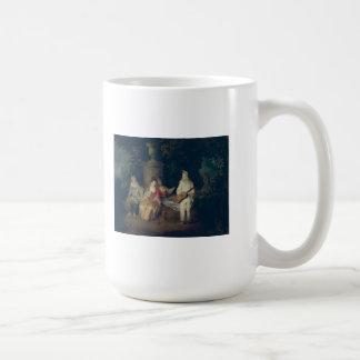 Watteau, arte de Jean-Antoine Taza Clásica