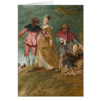 Watteau, Jean-Antoine Art Card
