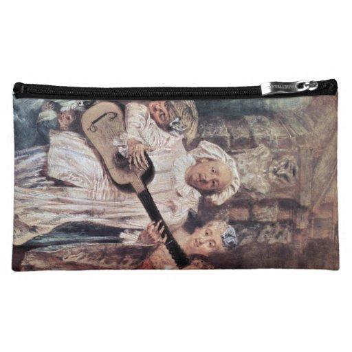 Watteau, Jean-Antoine Art Cosmetics Bags