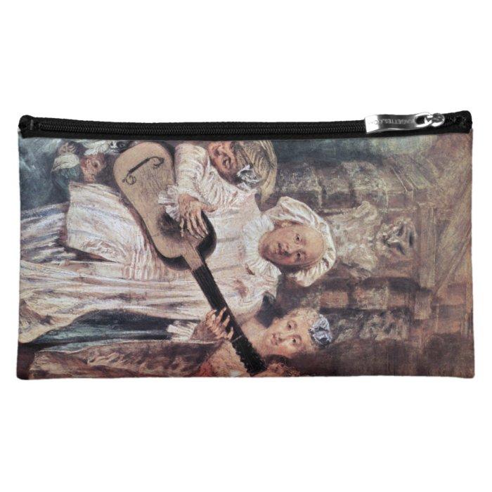 Watteau, Jean-Antoine Art Makeup Bag
