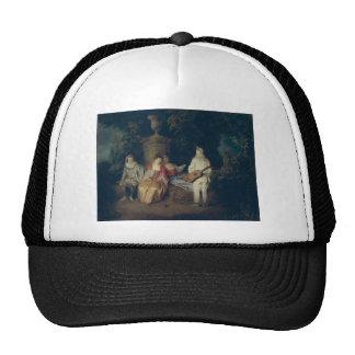 Watteau, Jean-Antoine Art Trucker Hat