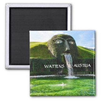 WATTENS AUSTRIA 2 INCH SQUARE MAGNET