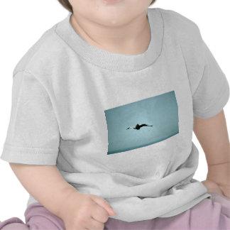 Wattled Crane in flight Shirt