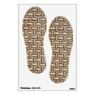 Wattled Feet Wall Decal