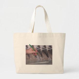 Watts Bar Dam Canvas Bags