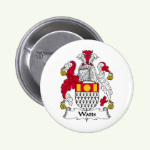 Watts Family Crest Button