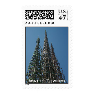 Watts Towers Postage