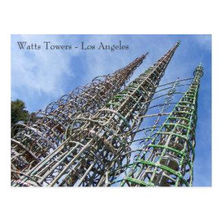 Watts Towers Postcard! Postcard