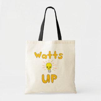Watts Up Tote Bag