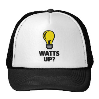 Watts Up? Trucker Hat