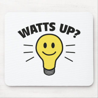 Watts Up? Mouse Pad