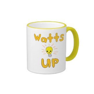 Watts Up Ringer Coffee Mug