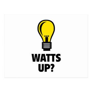 Watts Up? Postcard