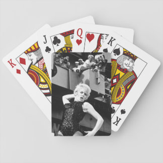 Watusi, Frug, Shimmy, Twist!  On a carrier? - It's Playing Cards