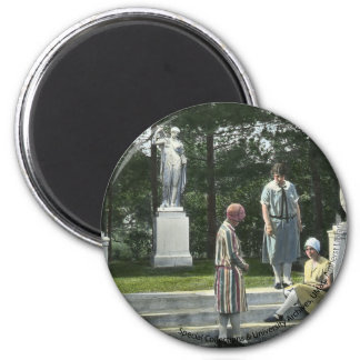 Waugh Collection 1 2 Inch Round Magnet