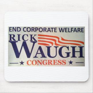 Waugh for Congress Mousepad