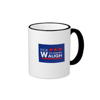 waugh logo 3 ringer mug