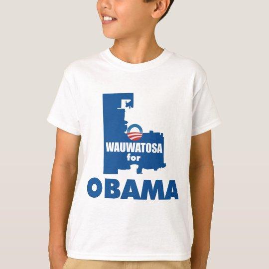 Wauwatosa para Obama Playera