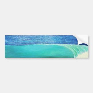 wave 02 bumper sticker