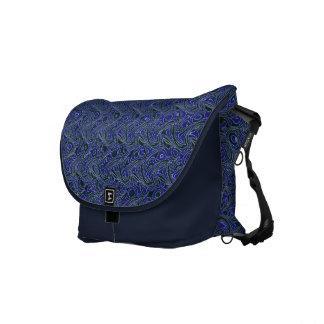 Wave (02) - Medium Size Messenger Bag