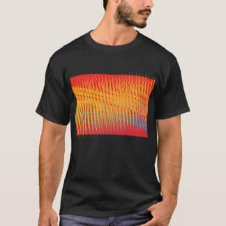 wave abstraction t-shirt