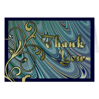 Wave Action Thank You Card